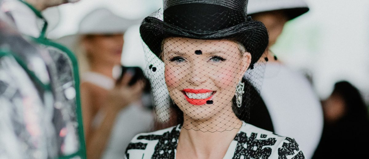 Top hat Trends in Melbourne - at Derby Day