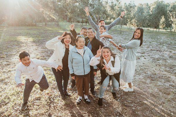family in 2020