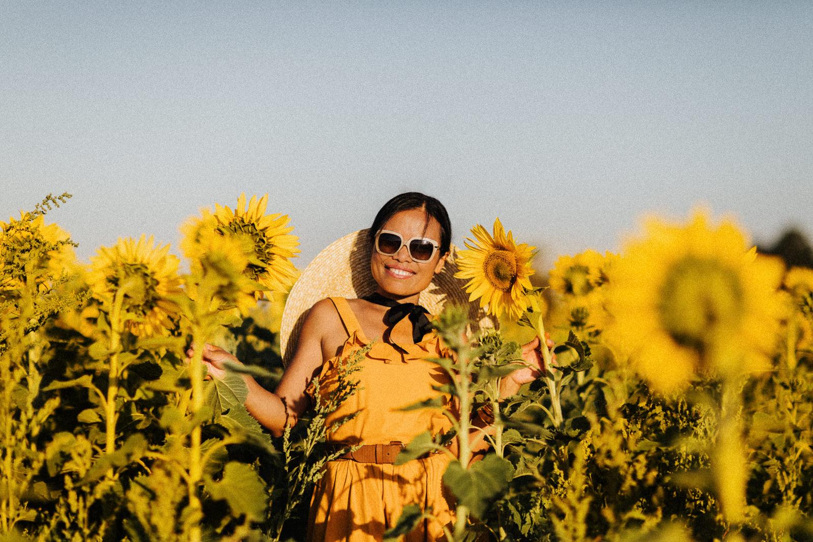 Melbourne Experiences - Sunflower field