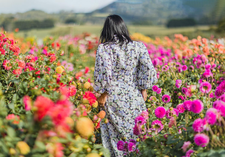 weekend getaway to flower field